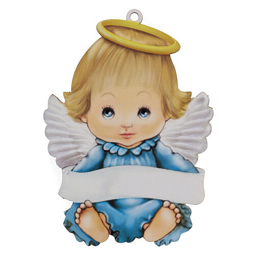 Souvenir Ange garçon 20 cm 1