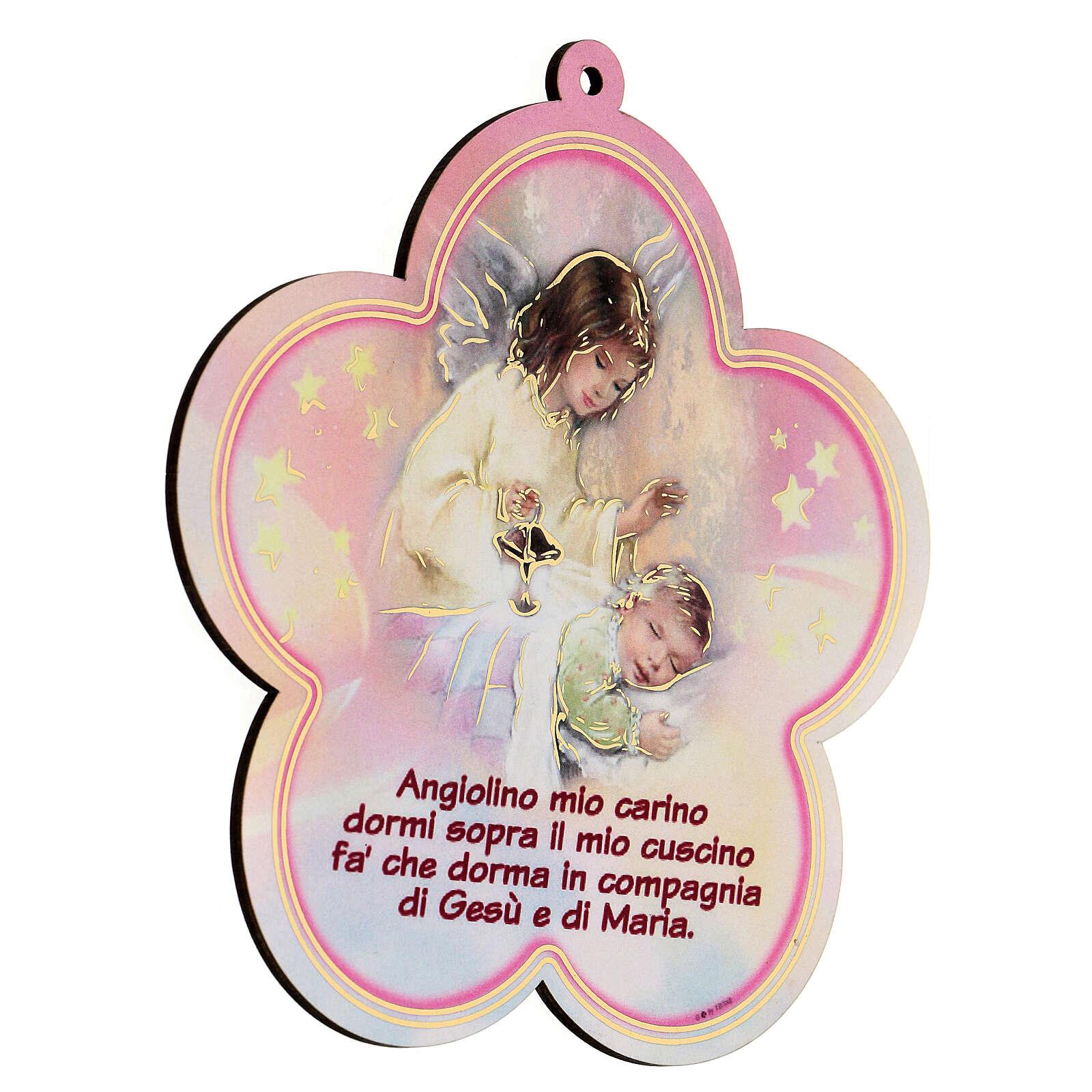 Icona Angelo Custode bambina 3