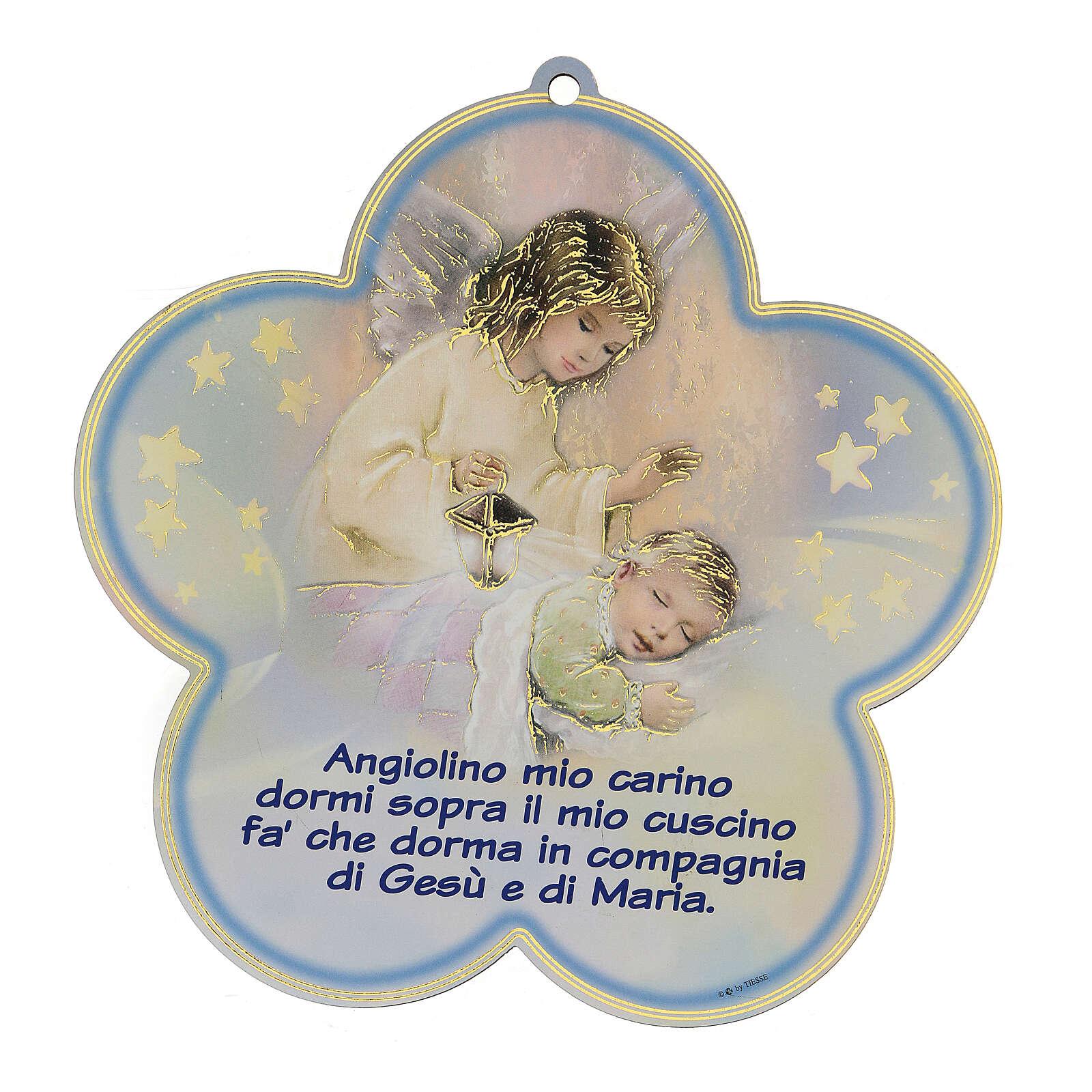 Quadretto Angelo Custode bambino 3