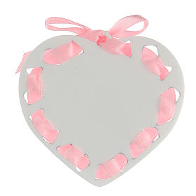 Coeur ruban rose prière s3