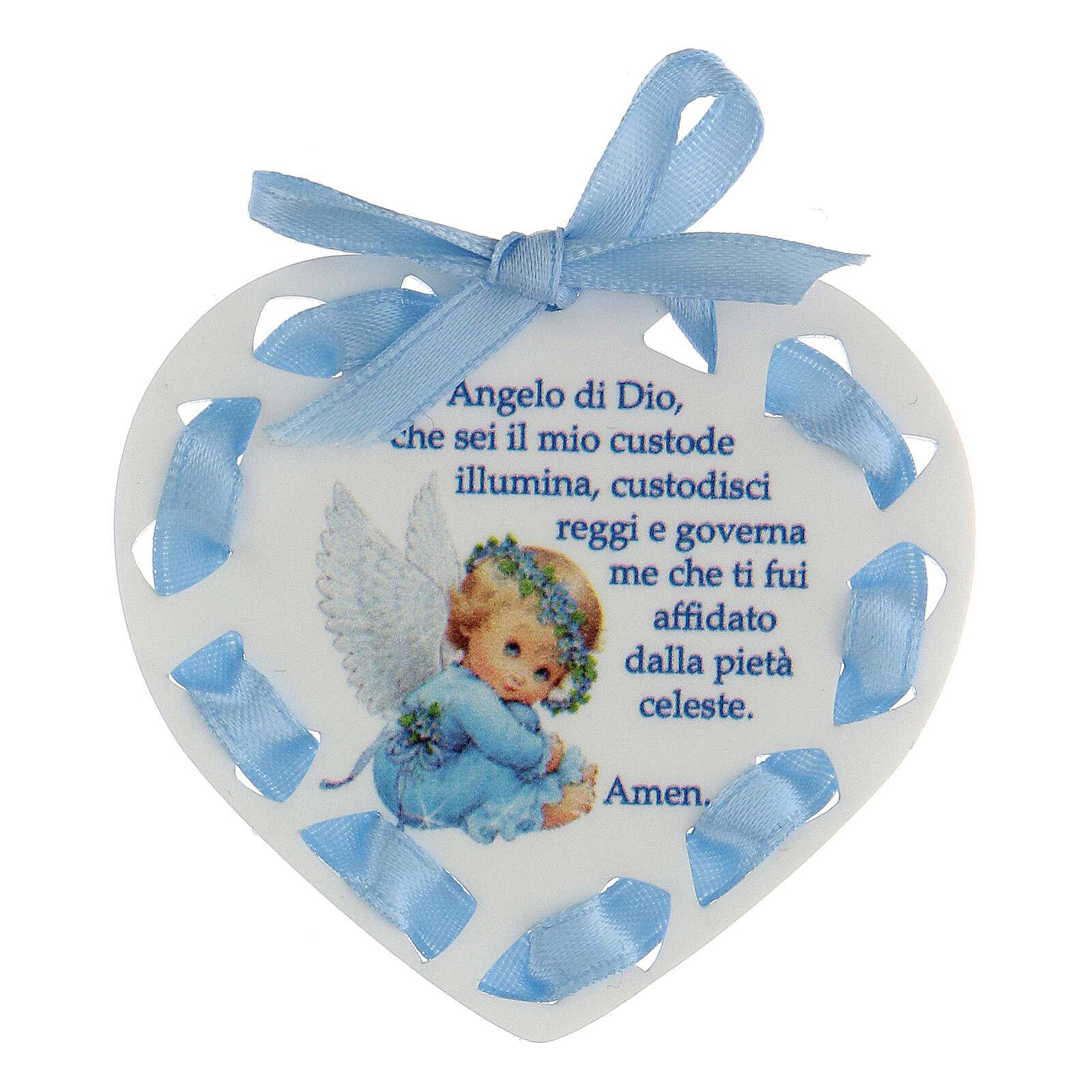 Ricordino cuore bimbo Angelo di Dio 3