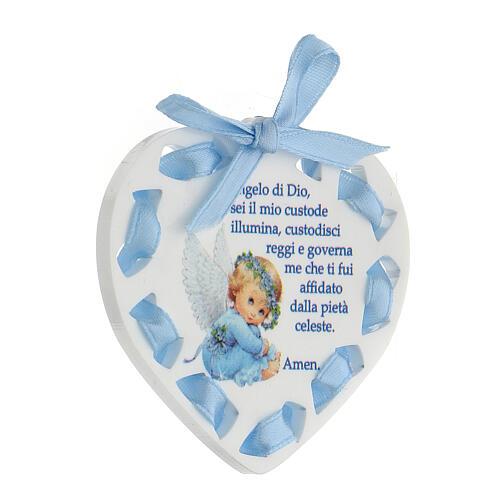 Ricordino cuore bimbo Angelo di Dio 2