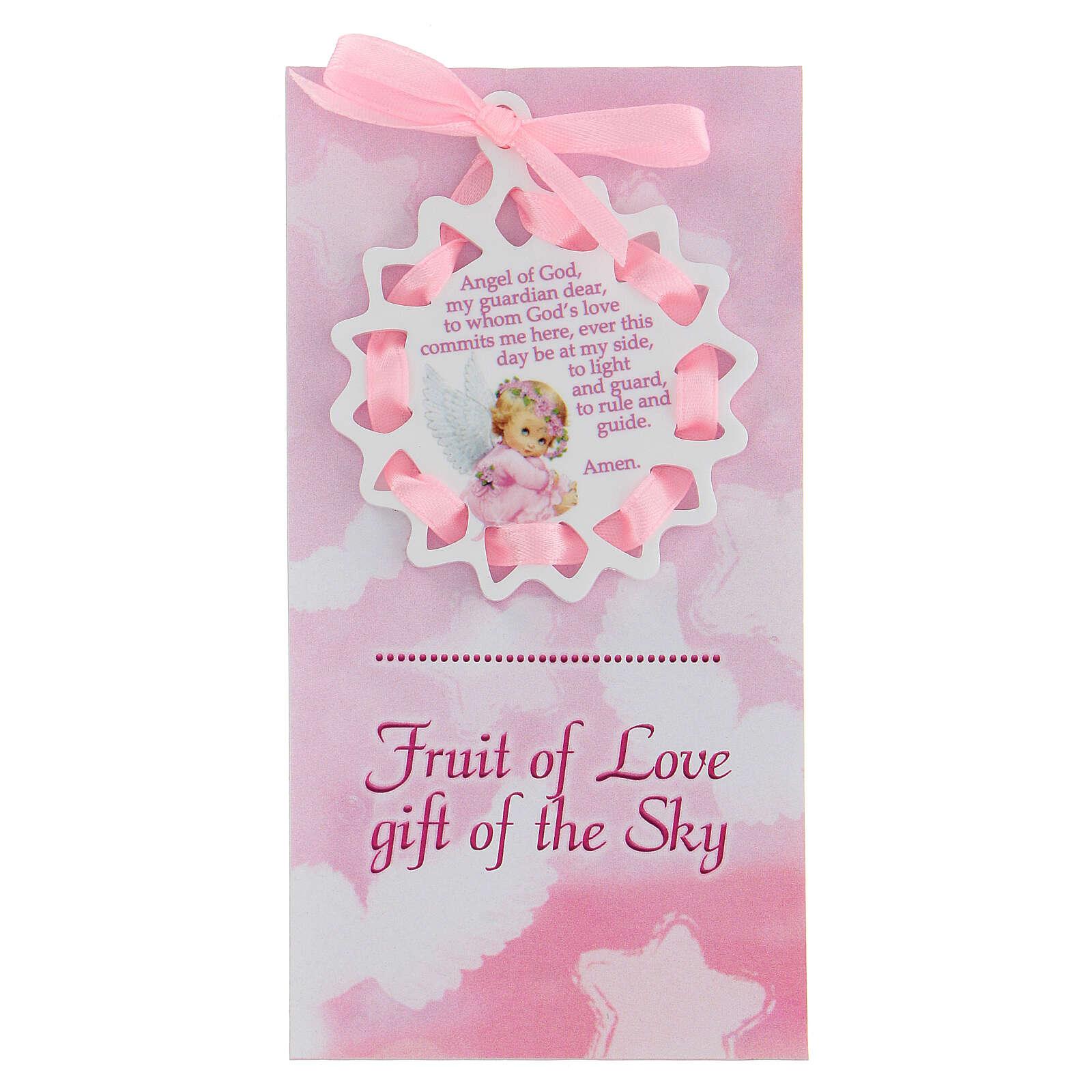 Étoile fille Ange de Dieu ANGLAIS 3
