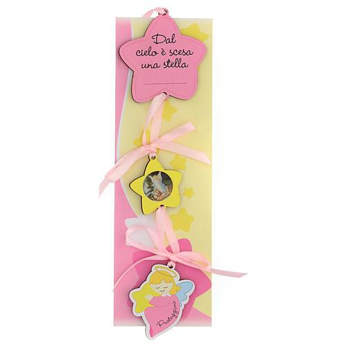 Médaille berceau étoile fille 1