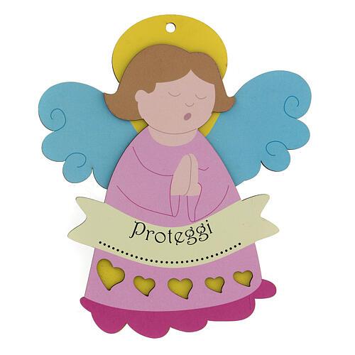 Recuerdo niña Ángel rosa 1