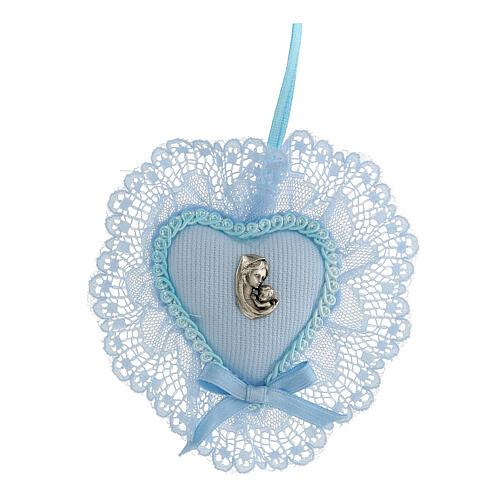 Maternità coccarda azzurra culla 1