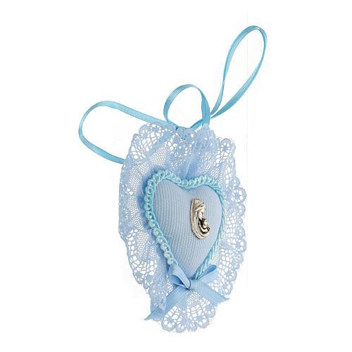 Maternità coccarda azzurra culla 2
