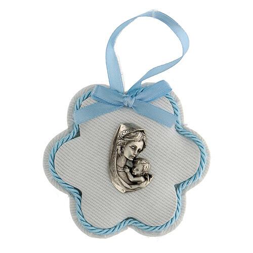 Recuerdo nacimiento escarapela flor niño 1