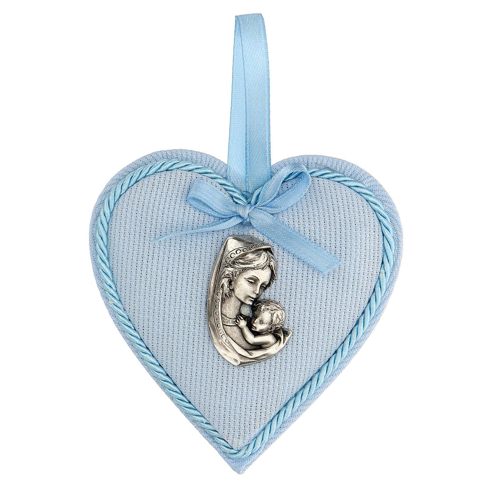 Escarapela corazón nacimiento niño 4