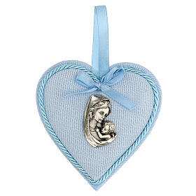 Escarapela corazón nacimiento niño s1