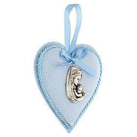 Escarapela corazón nacimiento niño s2