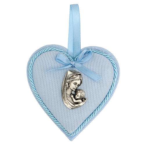 Escarapela corazón nacimiento niño 1