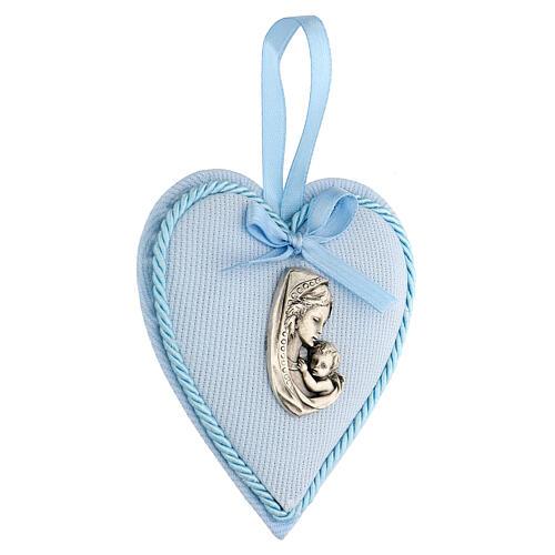 Escarapela corazón nacimiento niño 2