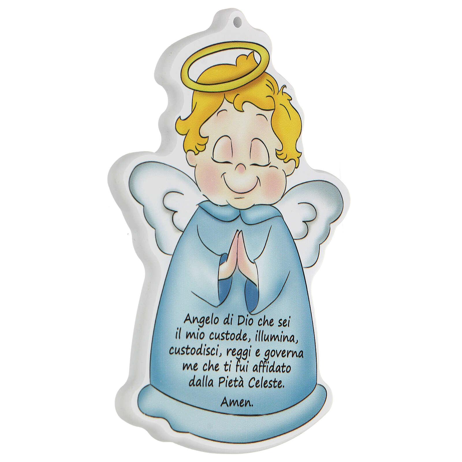 Icona sagoma Angelo di Dio bimbo 3