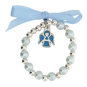 Cofre recuerdo Bautismo niño decena cuadrito y libreta rosario s3