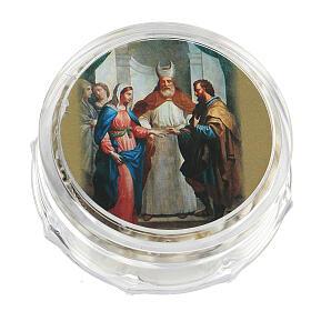 Recuerdo boda rosario plateado y alianzas s4