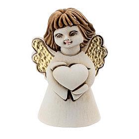 Angelito con corazón 5 cm resina s1