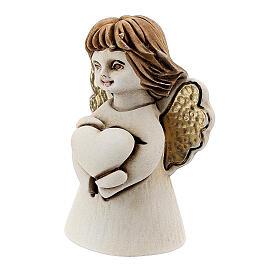 Angelito con corazón 5 cm resina s2