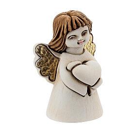 Angelito con corazón 5 cm resina s3