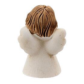 Angelito con corazón 5 cm resina s4