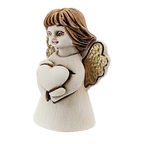 Angelito con corazón 5 cm resina 2