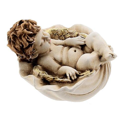 Angelo dormiente su conchiglia mod. assortiti 4