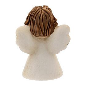 Ángel con flor resina 10 cm s4