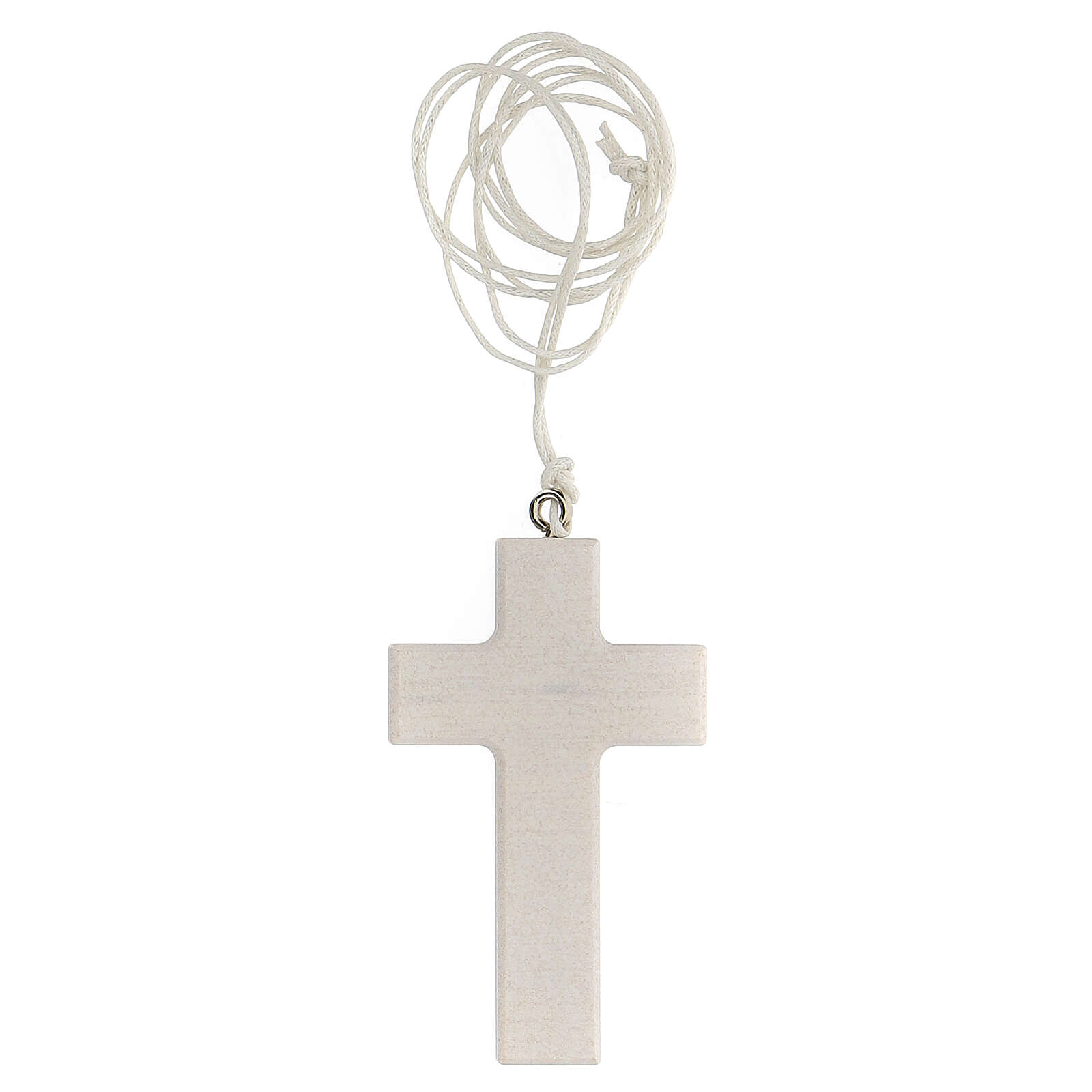 Cruz blanca con cinta Comunión 3