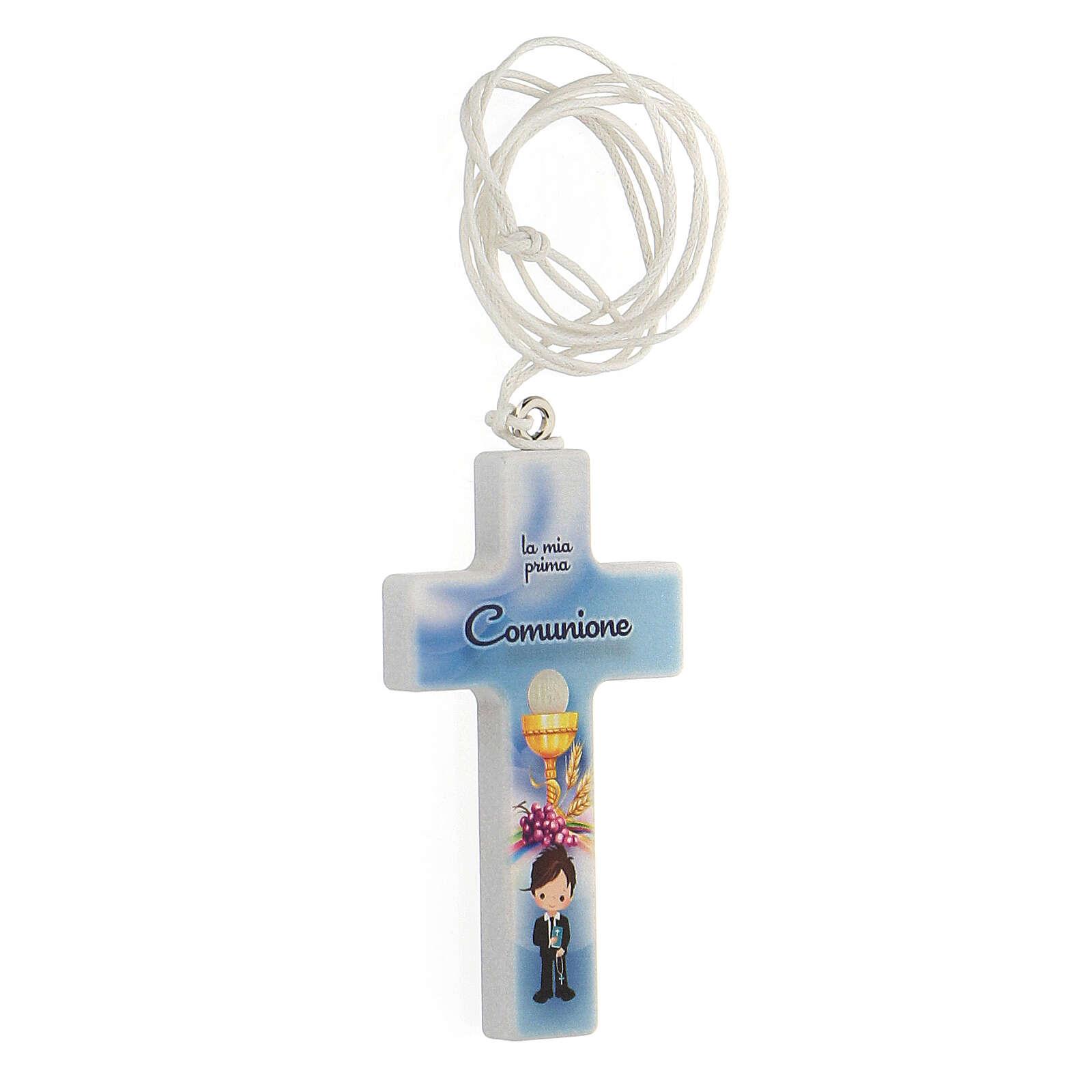 Croce con laccio ricordo Comunione bimbo 3
