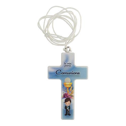 Croce con laccio ricordo Comunione bimbo 1