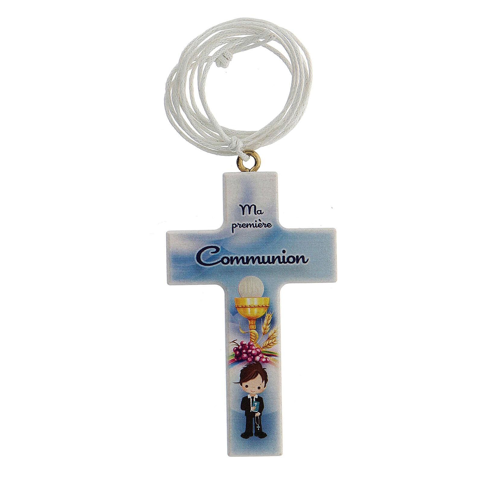 Croce e laccio Comunione bimbo francese 3