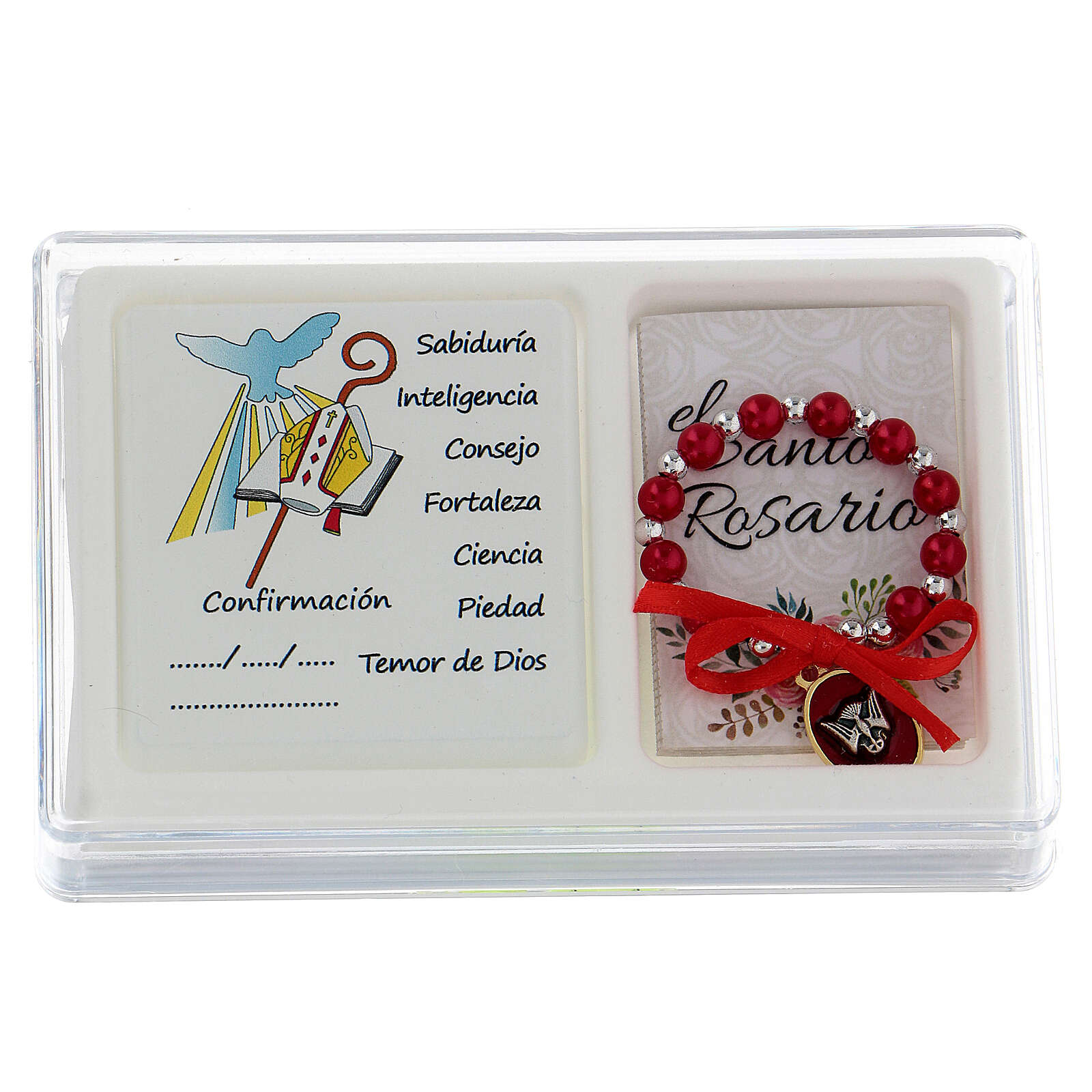 Ricordo Cresima decina e Santo rosario spagnolo 3