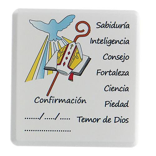 Ricordo Cresima decina e Santo rosario spagnolo 4