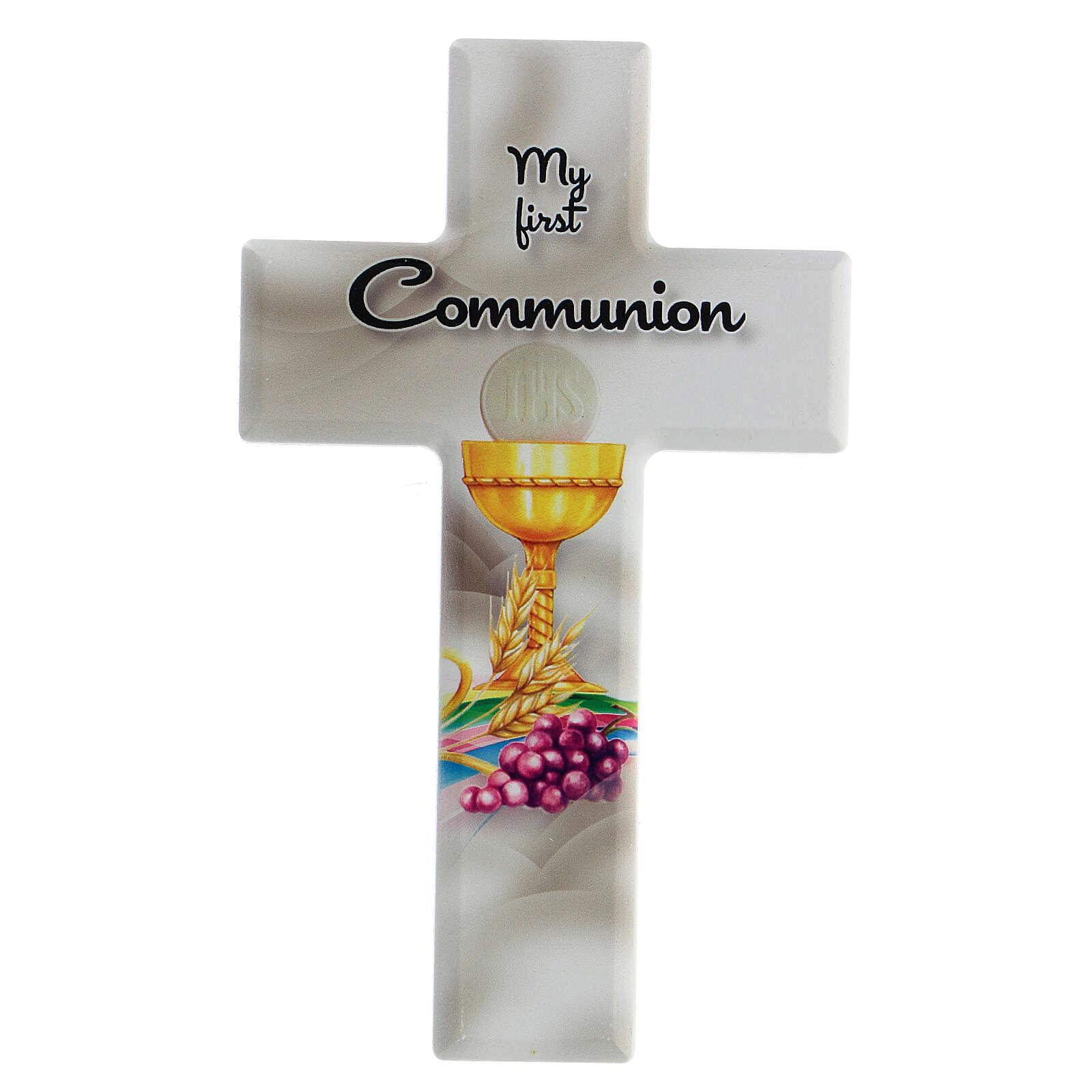 Croce Comunione ricordo inglese 3