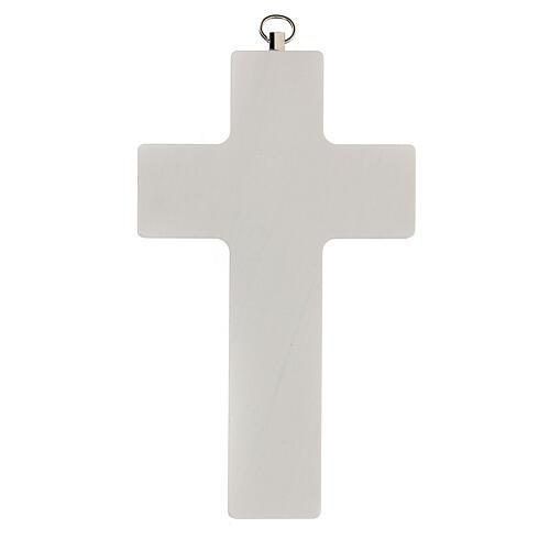 Souvenir Communion garçon croix bleue 3