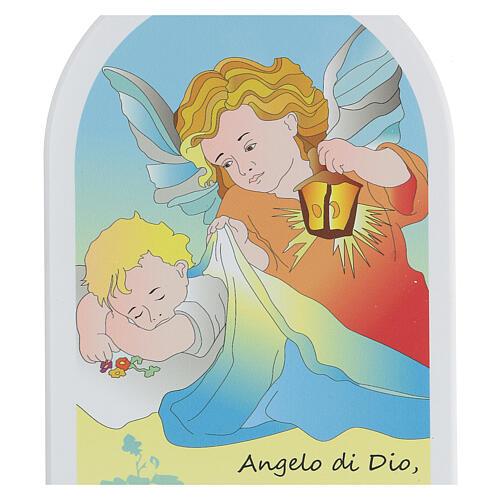 Ange de Dieu icône bande dessinée 20 cm 2