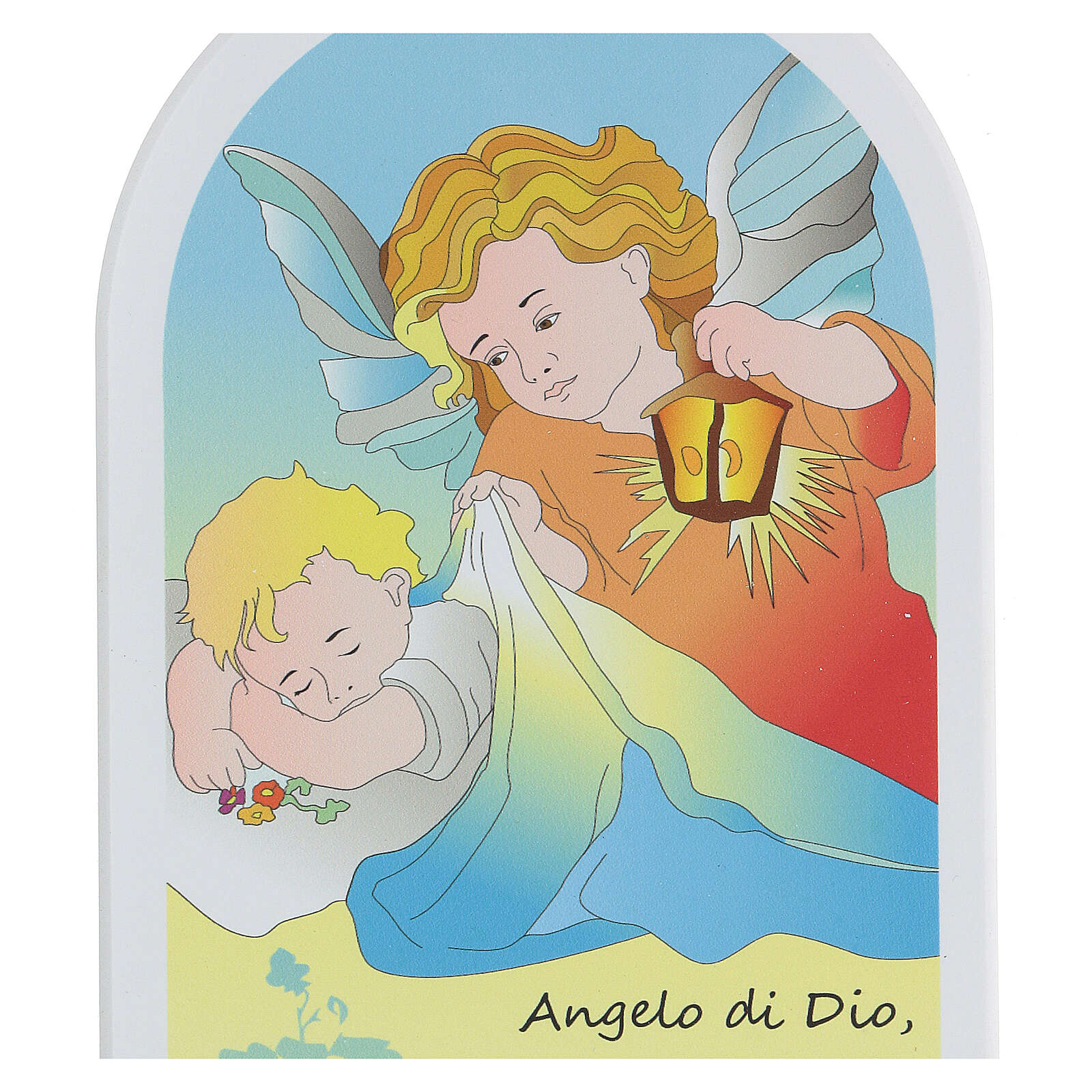 Angelo di Dio icona cartoon 20 cm 3