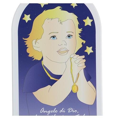 Icône enfant en prière Ange de Dieu 2