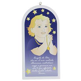 Icona bimbo in preghiera Angelo di Dio s1