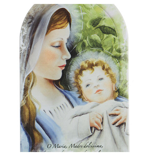 Prayer icon Virgin Mary with forex print 2