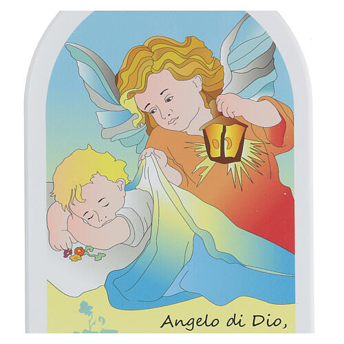 Icona Angelo di Dio cartoon colorato  2