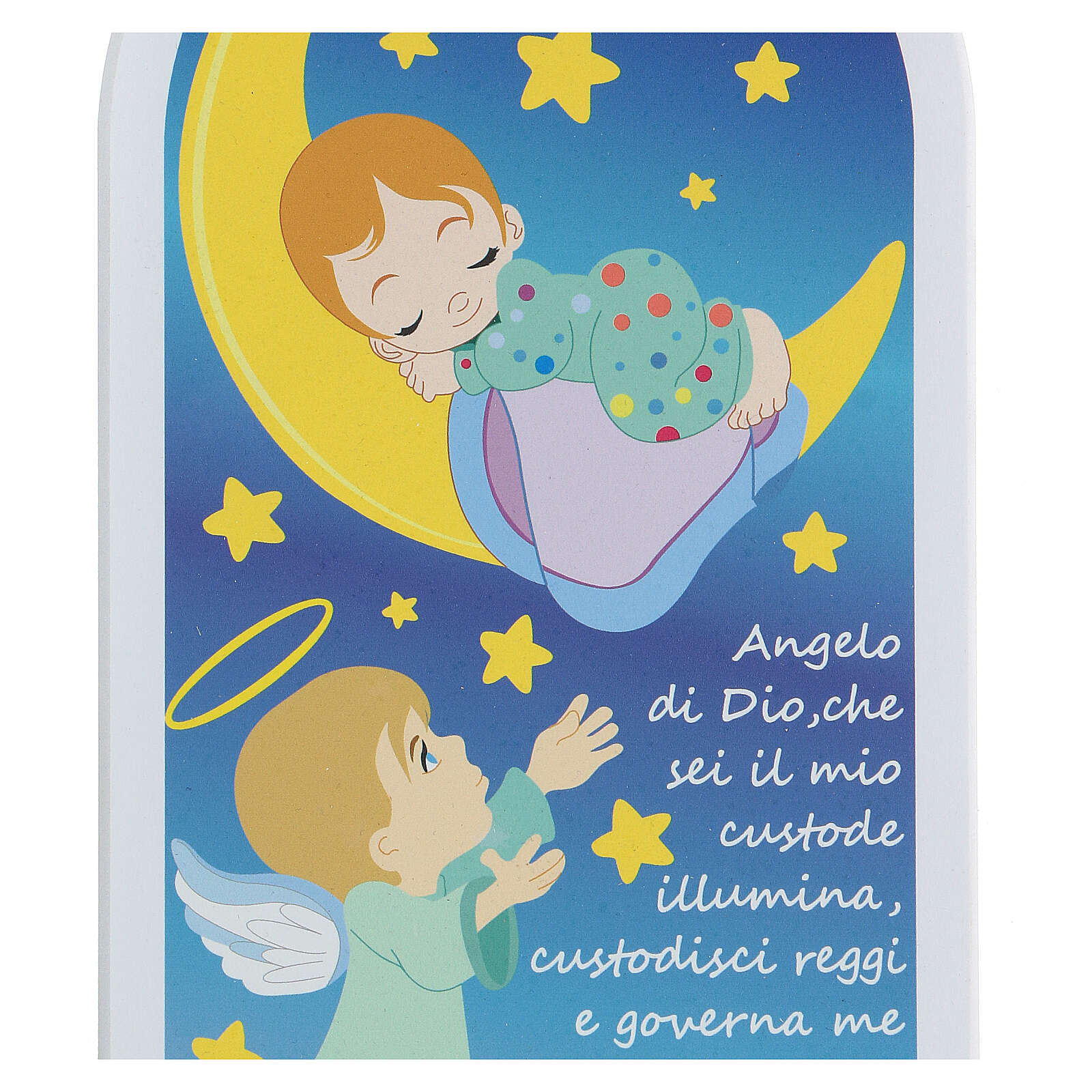 Icon baby and moon prayer Angel of God 3