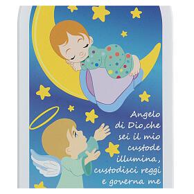 Icona bimbo e luna preghiera Angelo di Dio   s2