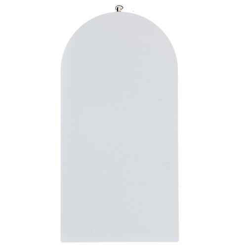Icono oración Ángel de la Guarda estampa 25 cm 4