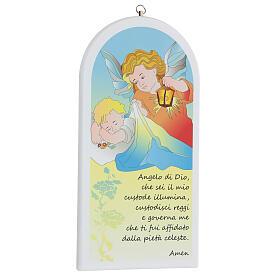Oración Ángel de Dios con ángel y linterna s3