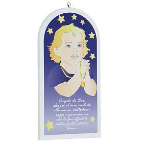 Angel of God child in prayer 30 cm s3