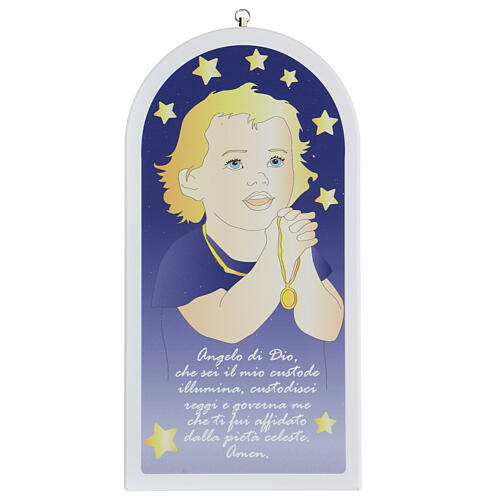 Angel of God child in prayer 30 cm 1