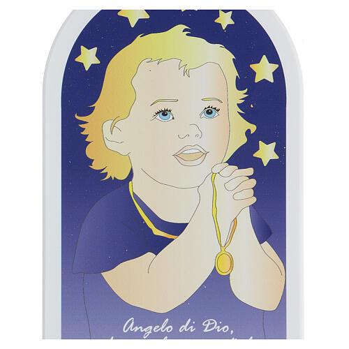 Angelo di Dio bimbo in preghiera 30 cm 2