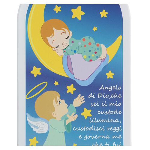 Icono oración Ángel de Dios con luna 30 cm 2