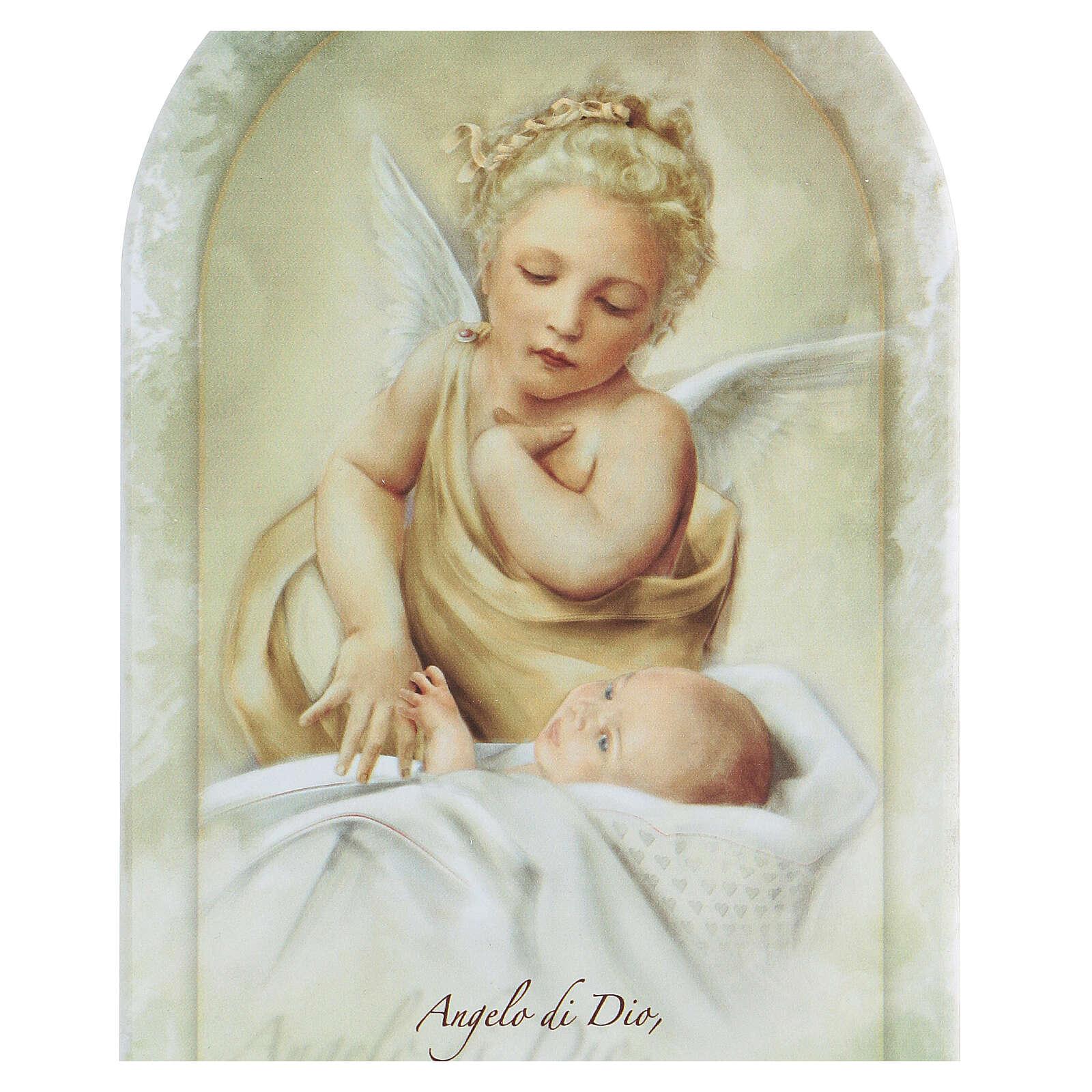 Icona stampata preghiera Angelo Custode forex 3